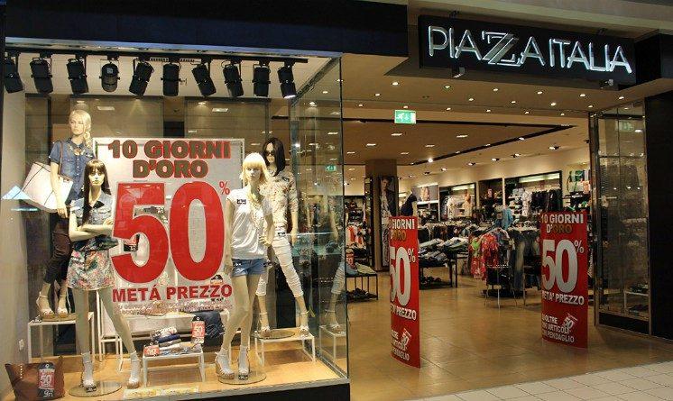 Piazza Italia lavora con noi 2017, offerte per addetti vendite in varie citta