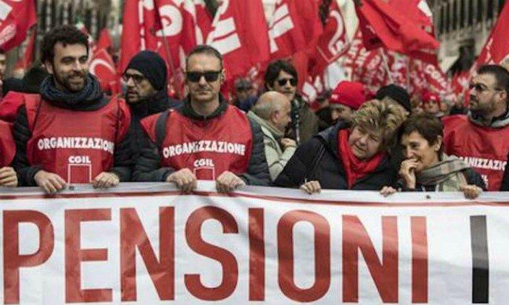 Pensioni, CGIL parte con la mobilitazione nazionale in cinque citta