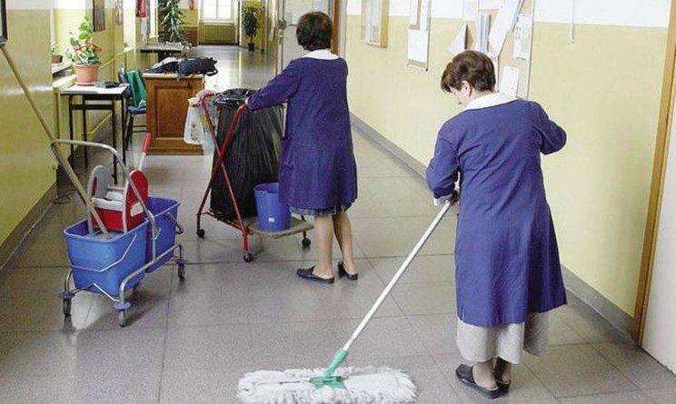 Gi Group seleziona bidelli addetti alle pulizie nelle scuole con licenza media