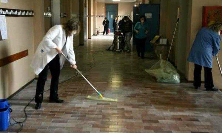 Archimede Spa seleziona 10 bidelli addetti alle pulizie scolastiche con licenza media