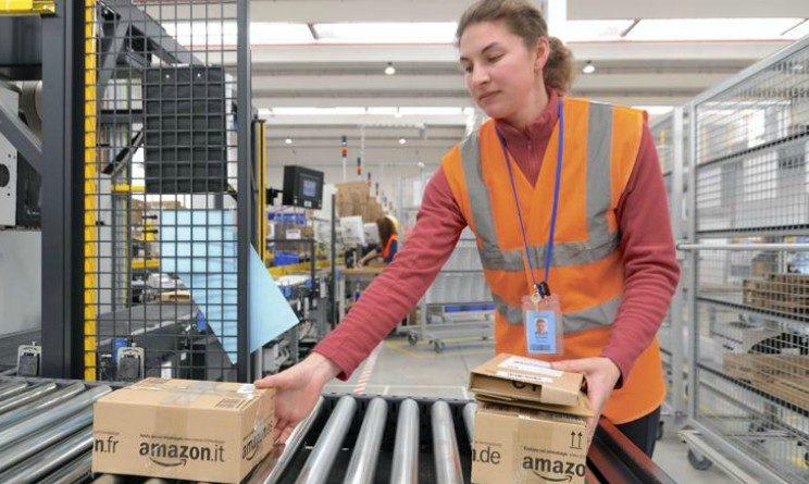 Amazon recruiting day in 3 citta per operatori di magazzino con Gi Group