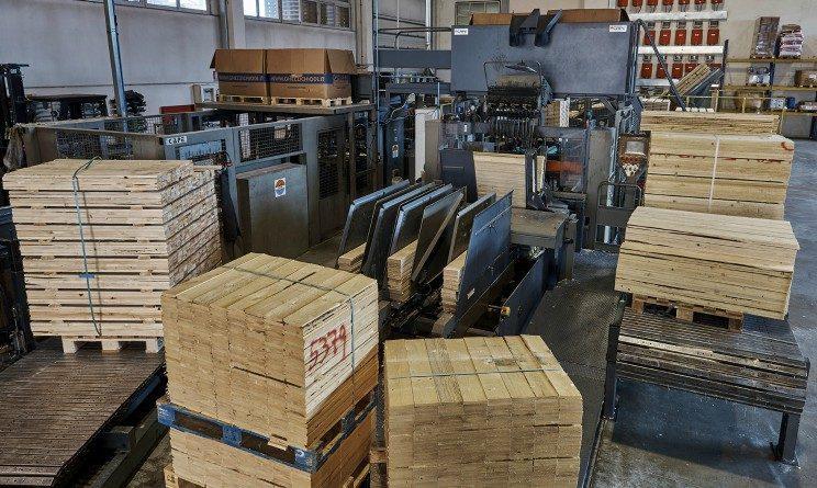 ASM Vercelli, 30 assunzioni, nuovo impianto produttivo pallet