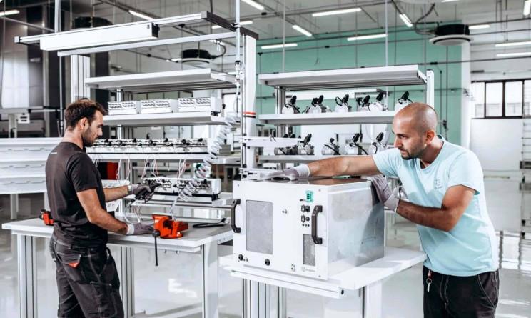Enapter, 20 posti di lavoro nella produzione